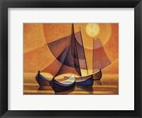 Framed Soleil Lisbonne 1994