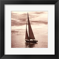 Sailing V Framed Print