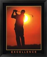 Framed Motivational - Excellence