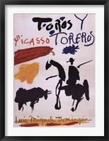 Framed Toros Y Toreros