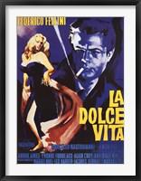 Framed Dolce Vita