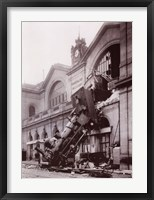 Framed Gare Montparnasse
