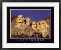 Framed Leadership (Mt.Rushmore)
