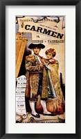 Framed Berlioz-Carmen