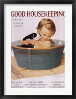 Framed Good Housekeeping June 1932