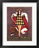 Framed Veuve Amiot