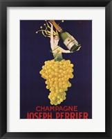 Framed Champagne Joseph Perrier