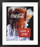 Framed Coca-Cola Have a Coke