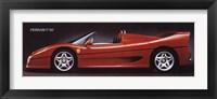 Framed Ferrari F-50