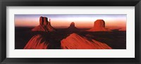 Framed Sunrise-Monument Valley