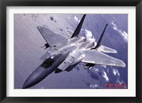 Framed Airplane F-15 Eagle