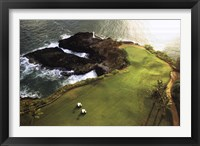Framed Golf Course, Hawaii Coast