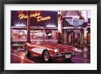 Framed Corvette, 1958 - Diner