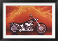 Framed Motorcycle - Custom, 1997