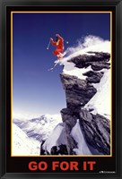 Framed Go For It - Extreme Sport