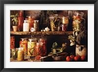 Framed Vegetables