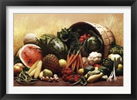 Framed Fruit Vegetables