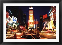 Framed New York Times Square