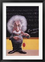 Einstein-E=Mc2 Framed Print