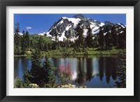 Framed Mount Shuksan