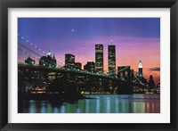 Framed New York at Night