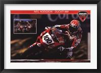 Framed Ducati Superbike