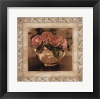 Imperial Rose I Framed Print