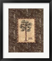 Vintage Palm I Framed Print