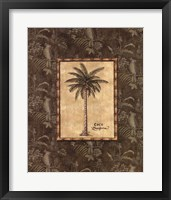 Vintage Palm III Framed Print