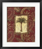 Framed Exotica Palm II