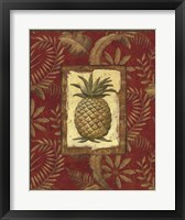 Framed Exotica Pineapple