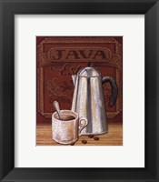 Cafe Mundo III Framed Print