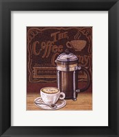 Cafe Mundo IV Framed Print