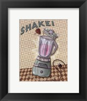 Nifty Fifties - Shake Framed Print