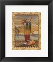 Island Nectar II Framed Print