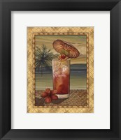 Island Nectar III Framed Print