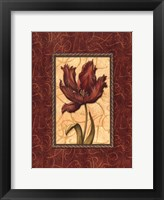 Red Passion III Framed Print