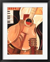 Framed Abstract Guitar