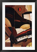 Framed Abstract Piano