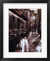 Framed Boulevard in Morning
