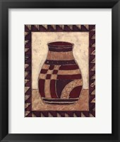 Framed Tribal Urn III