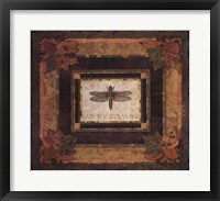 Framed Dragonfly I