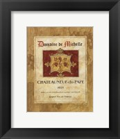 Chateauneuf du Pape Framed Print