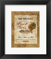 Pinot Gris Framed Print