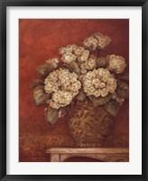 Villa Flora Hydrangeas Framed Print