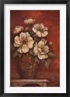 Villa Flora Peony Framed Print
