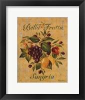 Sangria Framed Print