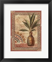 Fresco Palm I Framed Print