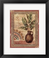 Fresco Palm II Framed Print