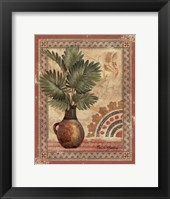 Fresco Palm III Framed Print